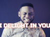 Chris shalom delight In You