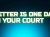 better is one day in your court matt redman