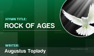 rock of ages Augustus Toplady