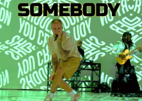 Justin Bieber Somebody