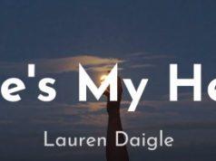 Lauren Daigle Heres My Heart