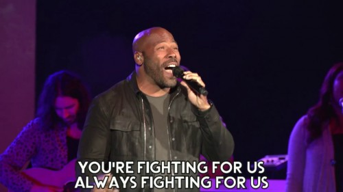 Anthony Evans Fighting For Us