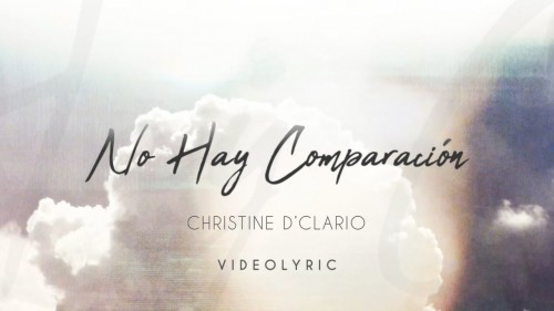 Christine DClario No Hay Comparacion
