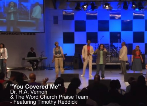 You Covered Me Dr R A Vernon Timothy Reddick