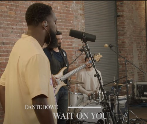 Dante Bowe LIVE Wait On You Feat Aaron Moses