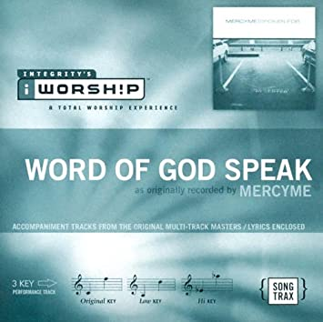 MercyMe Word Of God Speak