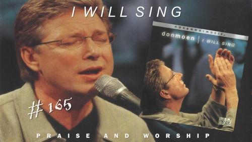 Don Moen I Will Sing